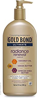 Sponsored Ad - Gold Bond Ultimate, (05224) Radiance Renewal COCONUT OIL, SHEA BUTTER & COCOA BUTTER 14 Ounce