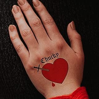 Chucky Heart Temporary Tattoos (Pack of 3) #10330