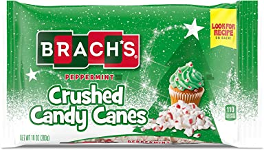 Brach's Peppermint Crushed Candy Canes, 10 Ounce Bag