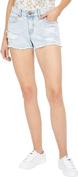 Drift Away Denim Shorts