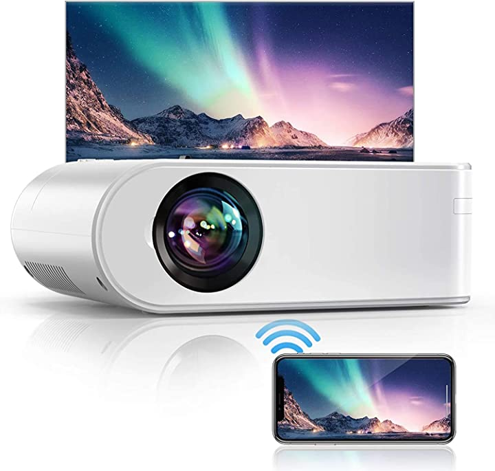 Videoproiettore - yaber  wifi, 5800 lumens mini. portatile 1080p full hd B08CB3P443