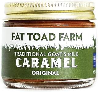 Fat Toad Farm Traditional Goat's Milk Caramel Sauce, Original, 2fl oz Jar, Cajeta, Gluten Free