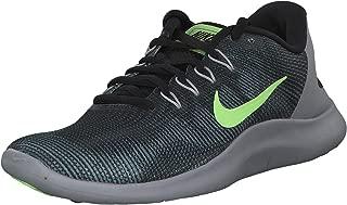 Men's Flex RN 2018 Running Shoe Black/Lime Blast/Cool Grey Size 10.5 M US