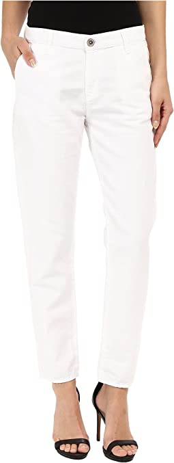 The Tristan Trousers in White