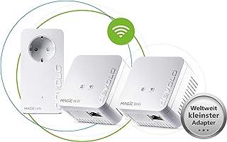 devolo Magic 1 WiFi mini: Powerline Starter Kit compatto per WLAN affidabile, semplice via cavo di alimentazione da pareti...
