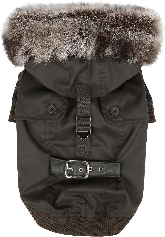 Puppia Greatcoat Dog Coat Khaki L
