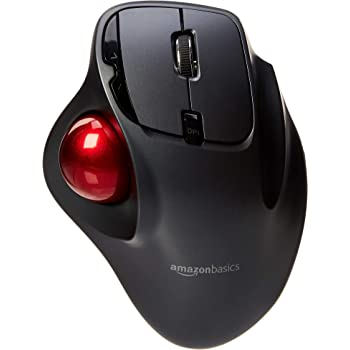 AmazonBasics - Mouse con trackball, wireless