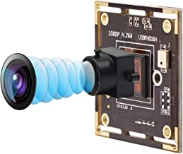 Mini USB Camera Module Board Full HD 1080P Webcamera with USB,Sony IMX322 Night Low Illumination Surveillance Pet Baby Web...