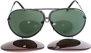 Porsche Design 8478 Sunglasses with Hard Case and Cloth