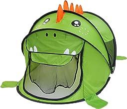 FUN LITTLE TOYS Dinosaur Pop Up Tent for Kids, Children Play Tent for Indoor & Outdoor