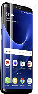 Galaxy S8 Plus Screen Protector Glass (Full Screen coverage), 3D Anti Scratch Tempered Glass Screen Protector for Samsung ...