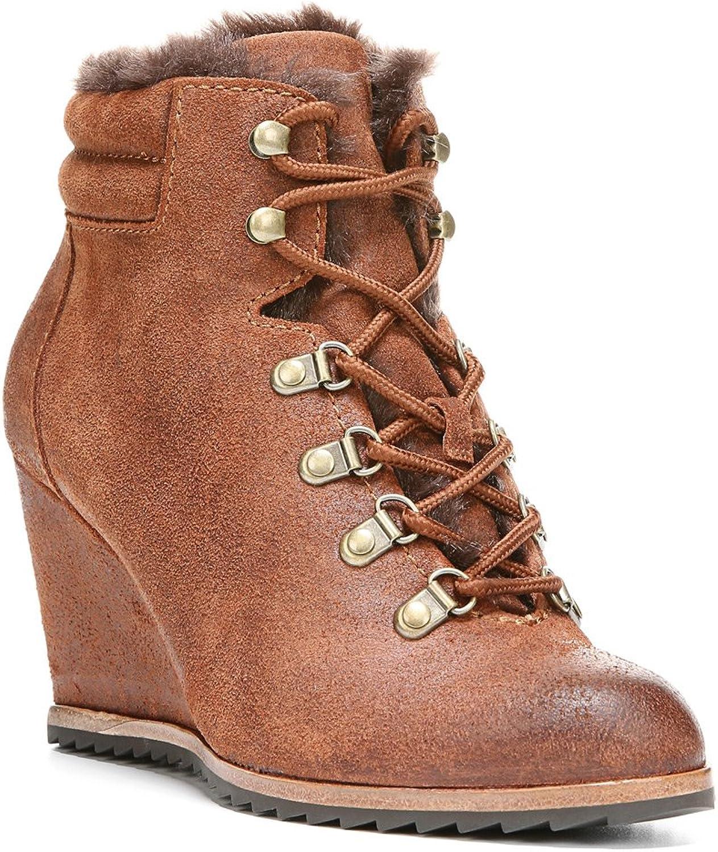 Dr. Scholl's Women's Izetta - Original Collection Brown Oil Leather Boot 9.5 M