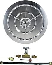 gas fire pit pan