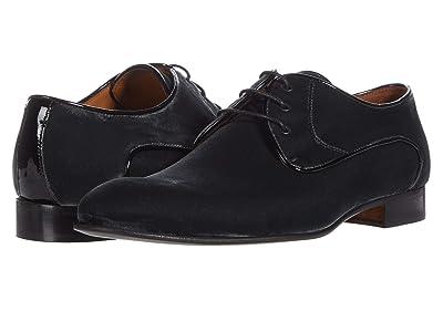 Massimo Matteo Velvet Cap Toe Oxford (Grey Velvet) Men