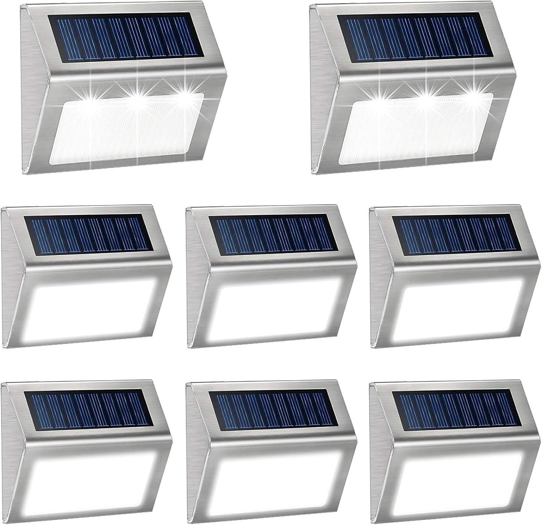 Max 75% OFF Solar Houston Mall Deck Lights Outdoor Waterproof Garden Light Decorati