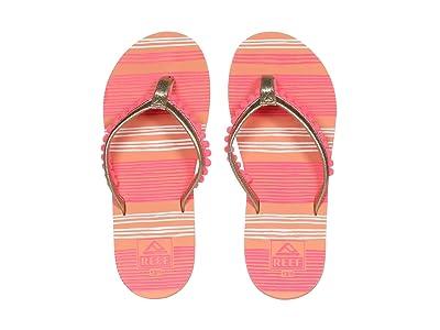 Reef Kids Pom Pom (Little Kid/Big Kid) (Pink) Girls Shoes