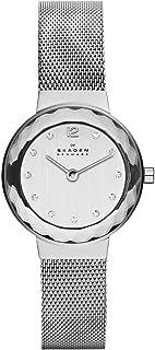 Skagen Women's Leonora Rose Gold Mesh Watch