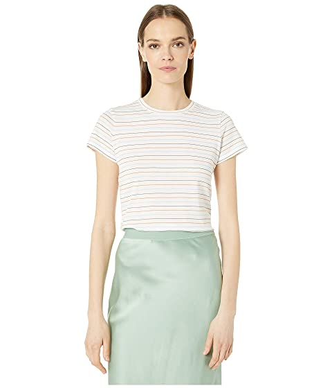 Vince Multi Stripe Essential Crew