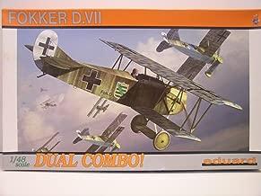 Eduard Models-1/48 Scale German WW I Fokker D.VII Combo Aircraft