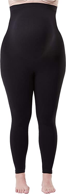 Plus Size Mama Look at Me Now Seamless Leggings