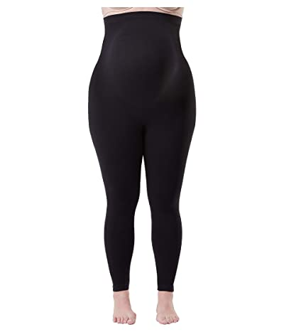 Spanx Plus Size Mama Look at Me Now Seamless Leggings (Very Black) Women