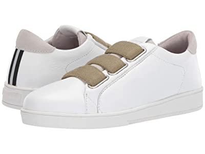 Blackstone Low Sneaker 3 Strap RL82 (White/Lizard) Women