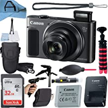 $254 » Canon PowerShot SX620 HS Digital Camera 20.2MP Sensor with SanDisk 32GB Memory Card, Case, Tripod and A-Cell Accessory Bun...