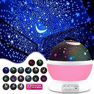 MOKOQI Star Projector, Kids' Party Centerpieces, Multiple Colors Night Light Lamp..
