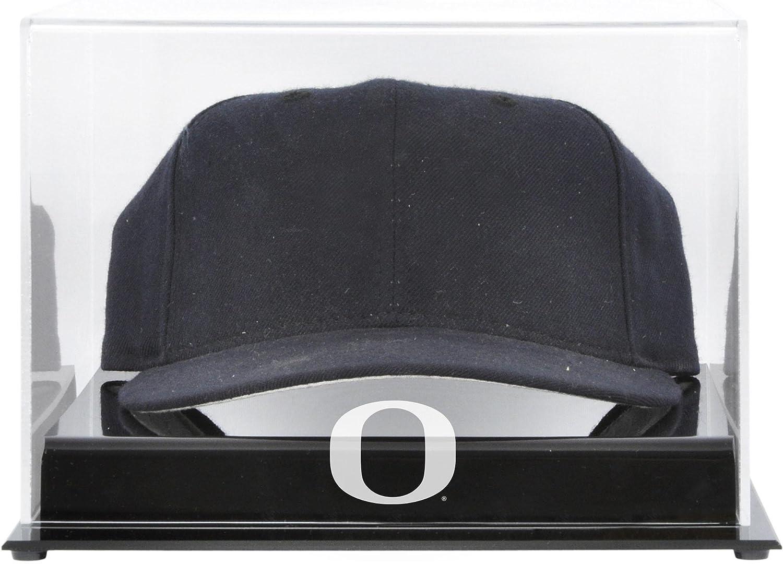 3a4f67a4f Oregon Ducks Acrylic Cap Logo Display Case Authentic Certified ...