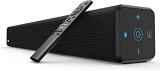 Sound Bar, BESTISAN 100 Watt 2.1 Channel Sound Bars for TV with Built in Subwoofer (32 inch, Bluetooth 5.0, 3 Audio Modes,...
