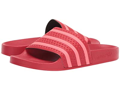 adidas Adilette (Scarlet/Flash Red/Scarlet) Women