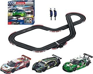 Carrera 30007 Digital 132 GT Triple Power Slot Car Racing Set Includes 3 Cars 1:32 Scale