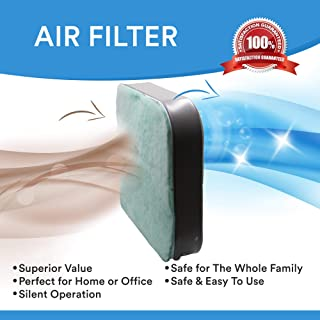 Northwest Enterprises Box Fan Filter for 20 Inch Box Fans, The Highest Box Fan Filter Air Flow!, with Aromatherapy Essential Oil Pads