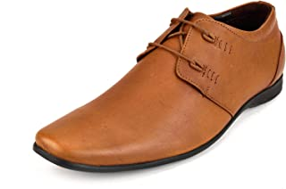 CHAMOIS Men's Leather Derby Shoes