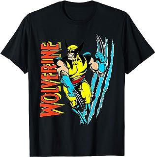 Marvel X-Men Wolverine Vintage Claw Slice Camiseta