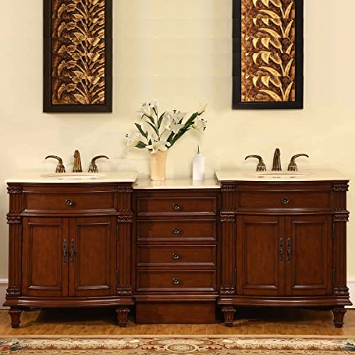 best website cfcc4 910d7 Cherry Bathroom Vanities: Amazon.com