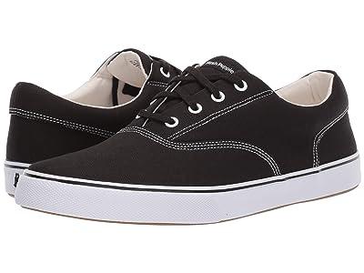 Hush Puppies Chandler Sneaker (Black Canvas) Men