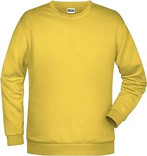 James And Nicholson Mens Basic Sweatshirt