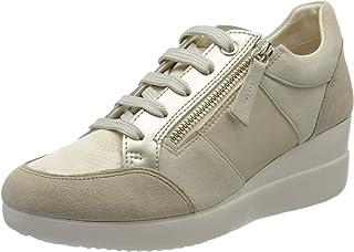 Geox D Stardust D, Sneakers Basses Femme