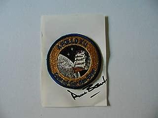 Rare! Apollo 12 Astronaut Alan Bean Hand Signed Patch Display Todd Mueller COA