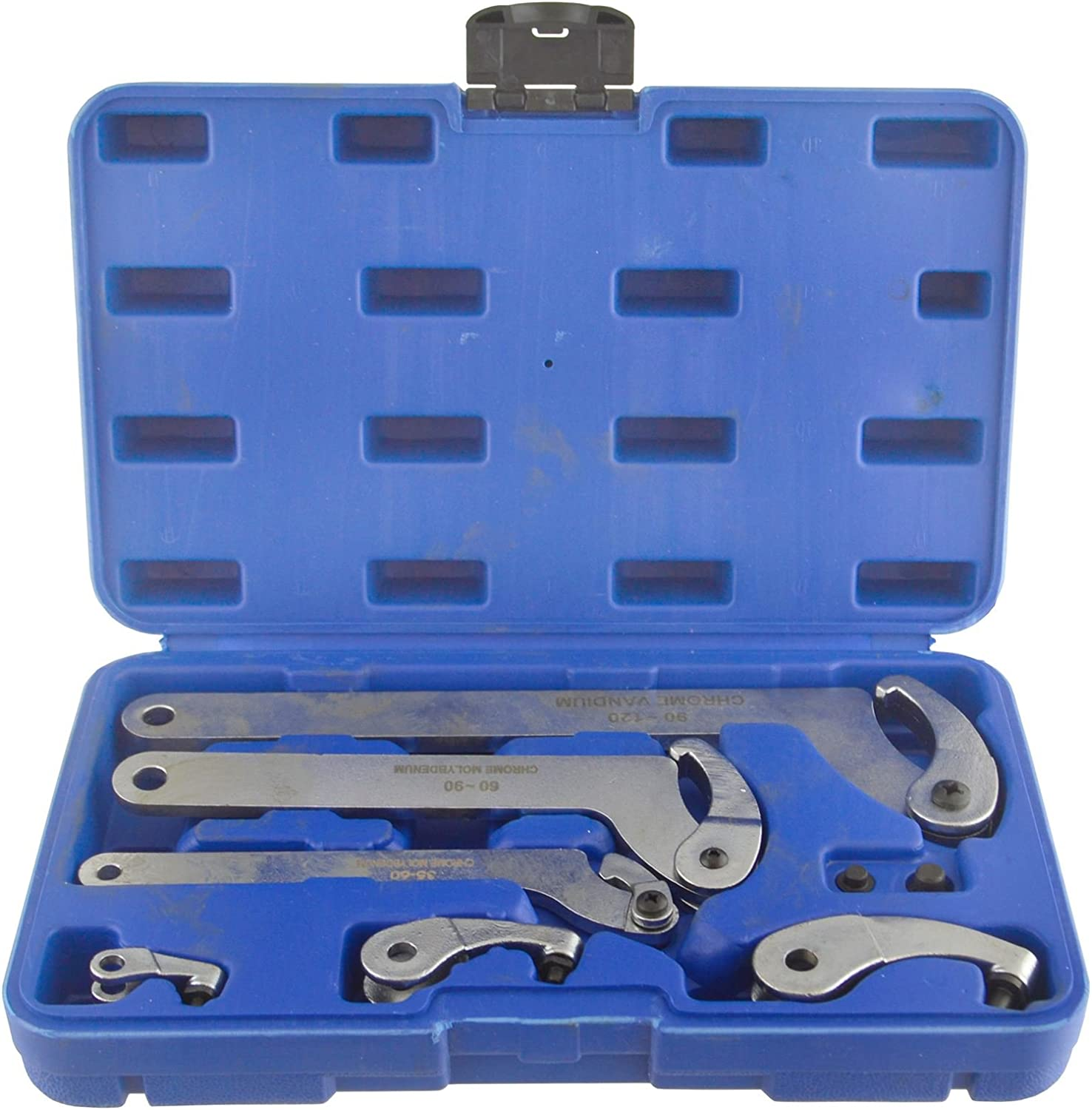 Adjustable Hook And Pin Wrench Spanners - 6 120mm C Louisville-Jefferson County High quality Mall Spanner 35mm