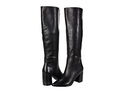 Steve Madden Nilly Boot (Black Leather) Women