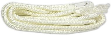 NOVICA Earthtone Brown Striped Nylon Hand Woven Mayan Rope 2 Person XL Hammock, Atlantis' (Double)