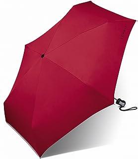 Esprit Easymatic Parapluie de poche, 4 sections, 21,5 cm, rouge (Rouge) - 51202