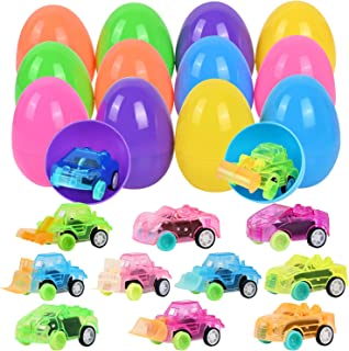 Easter Basket Stuffers for Toddlers Prefilled Easter Eggs Easter Gifts for Kids Easter Toys for 2-5 Years Old Boys Girls Stocking Stuffers for Kids Ages 1-3 Viposoon Easter Baskets for Toddlers
