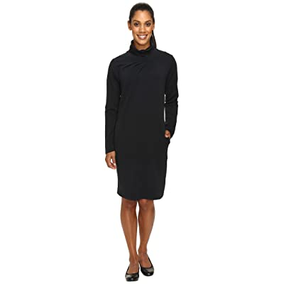 NAU Elementerry Pleat Dress (Caviar) Women