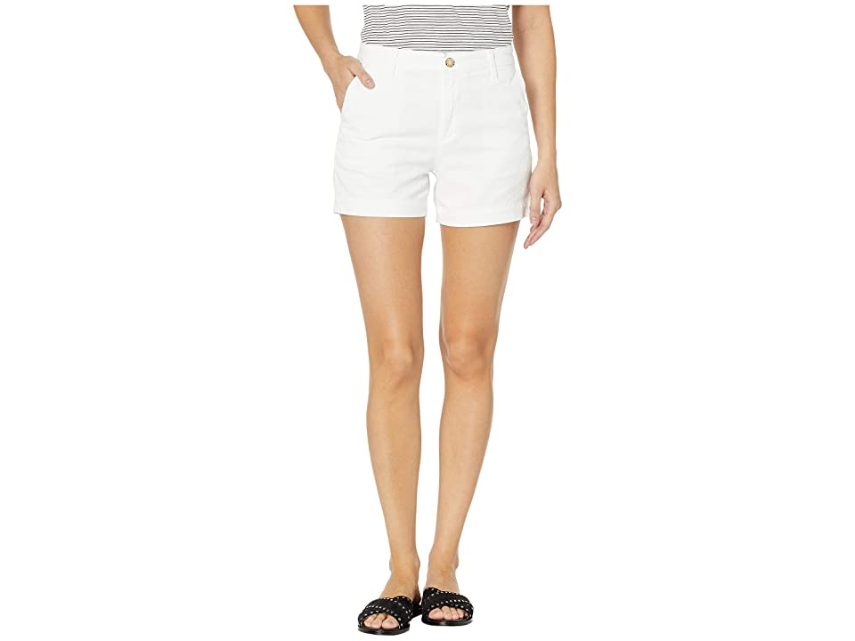 Image of AG Adriano Goldschmied Caden Shorts (White) Women's Shorts