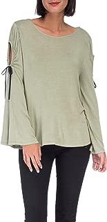 B Collection by Bobeau Women's Yara Cold Shoulder T-Shirt