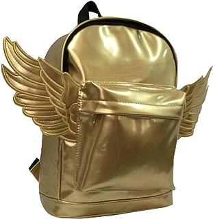 gold backpack kids