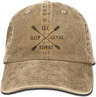 Yhsuk Eat Sleep Drift Unisex Fashion Cool Adjustable Snapback Baseball Cap Hat One Size Natural